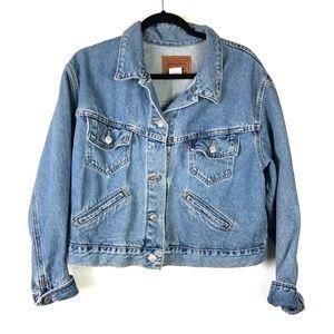 Vintage Levis Blue Denim Jean Jacket Size M